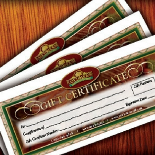 Ranch House Gift Certificates